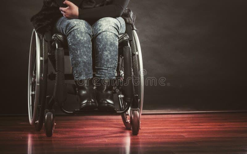 Nogi niepełnosprawna osoba fotografia royalty free