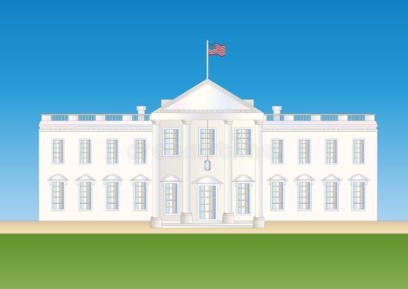Noi casa bianca royalty illustrazione gratis