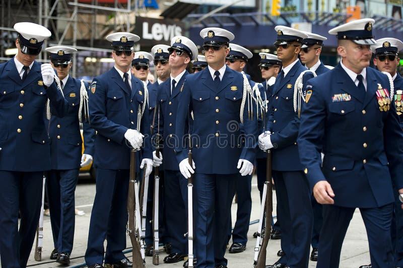 Noi parata della guardia costiera fotografia stock
