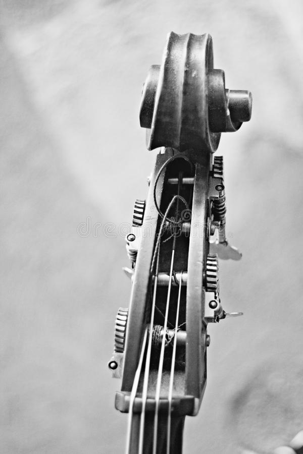 Noir élégant d'instrument photo stock