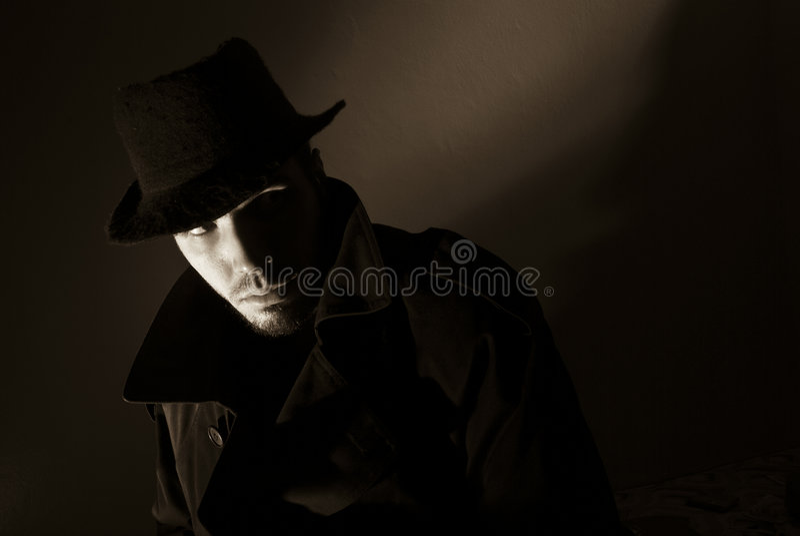 Noir stock foto