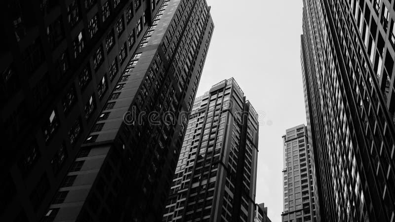 Noir City. Shot on Lumix G7 stock image