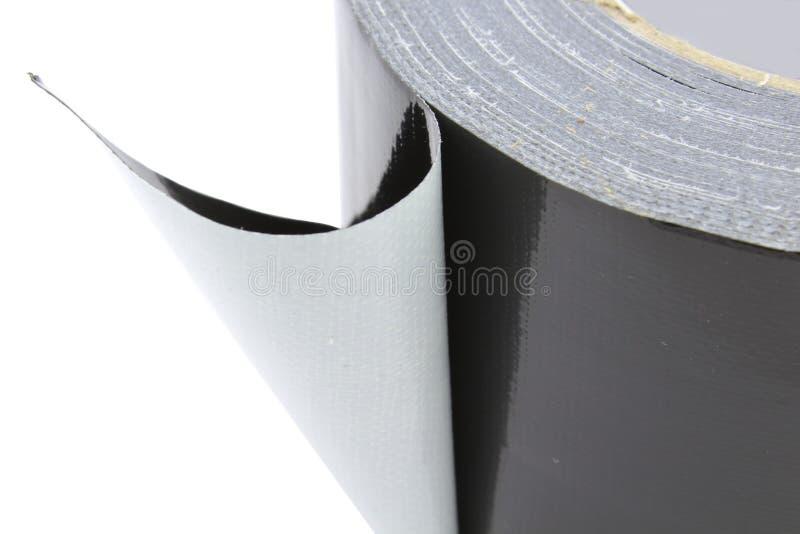 Download Noir De Bande De Tissu D'Adhezive Image stock - Image du blanc, tissu: 76083121