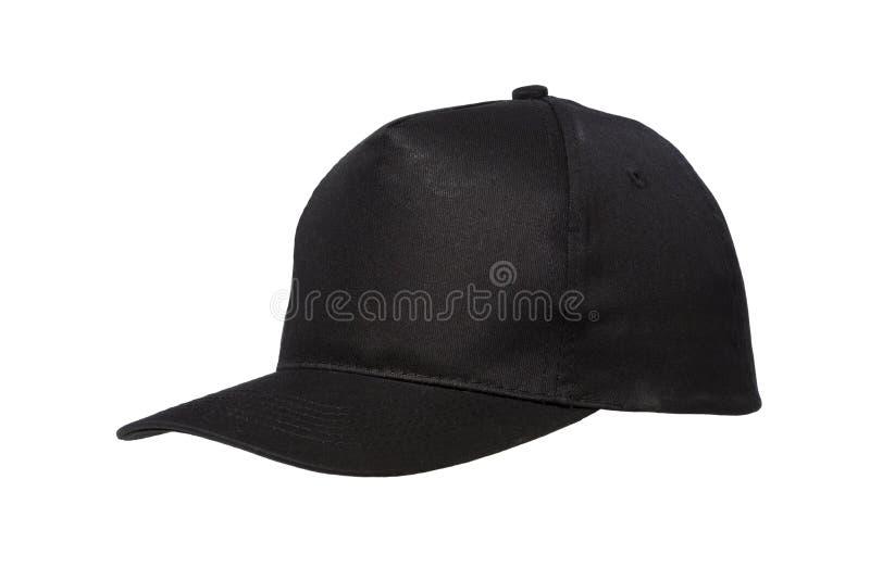 Noir de casquette de baseball photos libres de droits