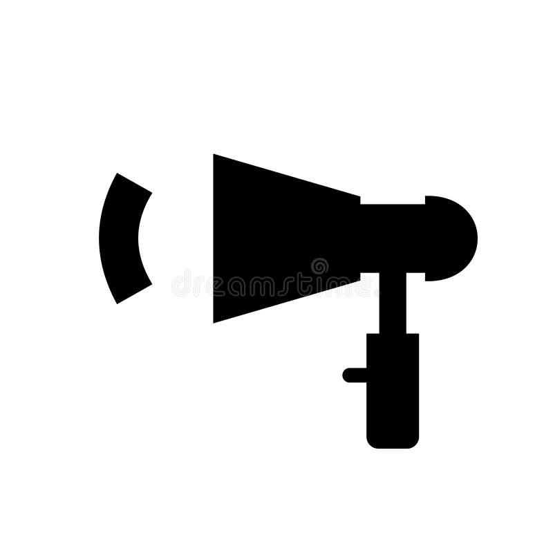 Noir de haut-parleur illustration libre de droits