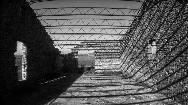 1 noir et blanc photo stock