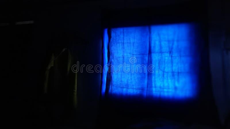 Noir et bleu image stock