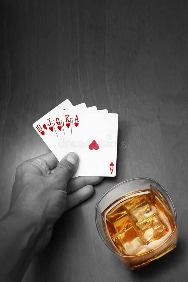 noir pokera. zdjęcie stock