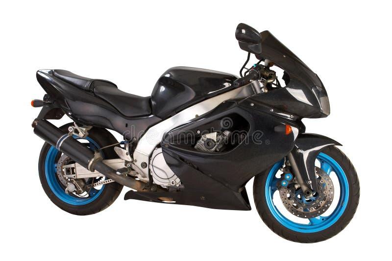 Noircissez la moto photo stock