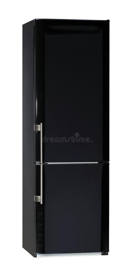 Noircissez le réfrigérateur images libres de droits