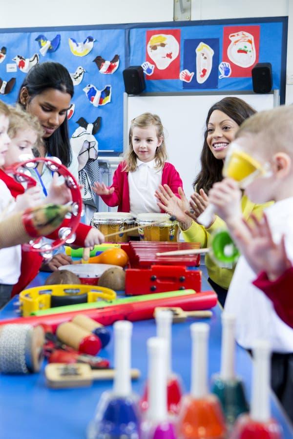 Noisy Nursery Lesson royalty free stock photography