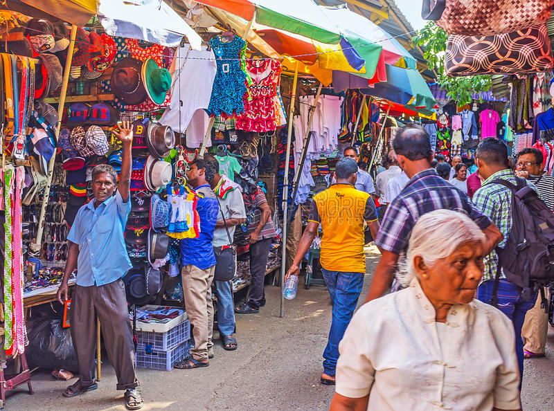 The noisy pettah market editorial stock photo image of for Pettah market colombo