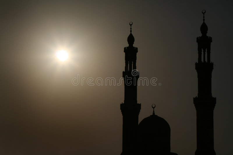 Noite árabe fotos de stock