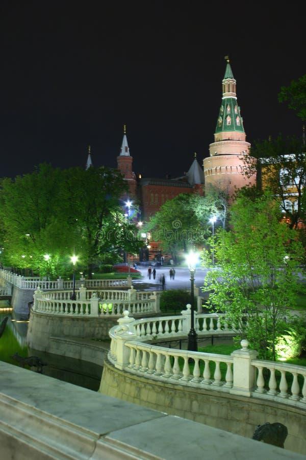 Noite 01 de Moscovo imagem de stock