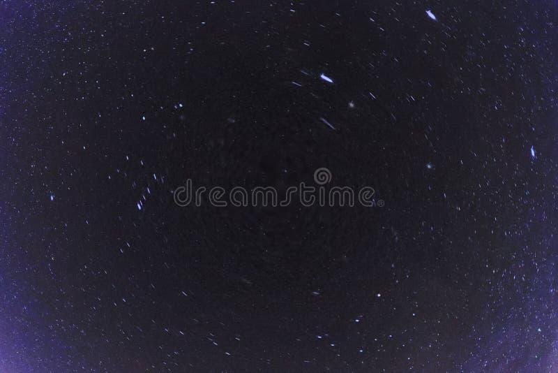 Noite abstrata Photoghraphy dos céus noturnos fotos de stock royalty free
