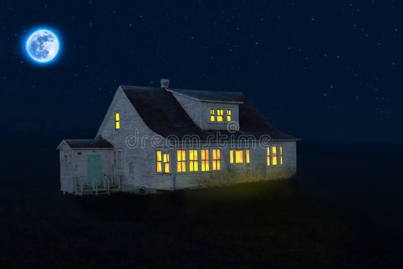 Noite, atmosfera, céu, luz foto de stock royalty free