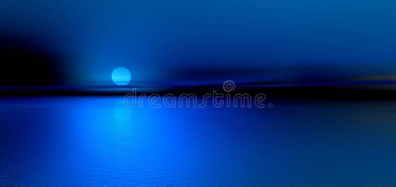 Noite da lua ilustração royalty free