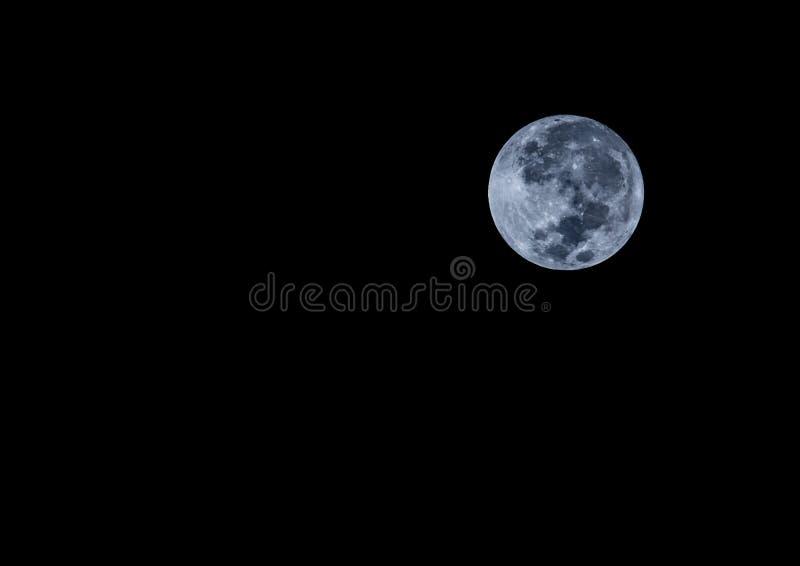 Noite da Lua cheia fotografia de stock royalty free