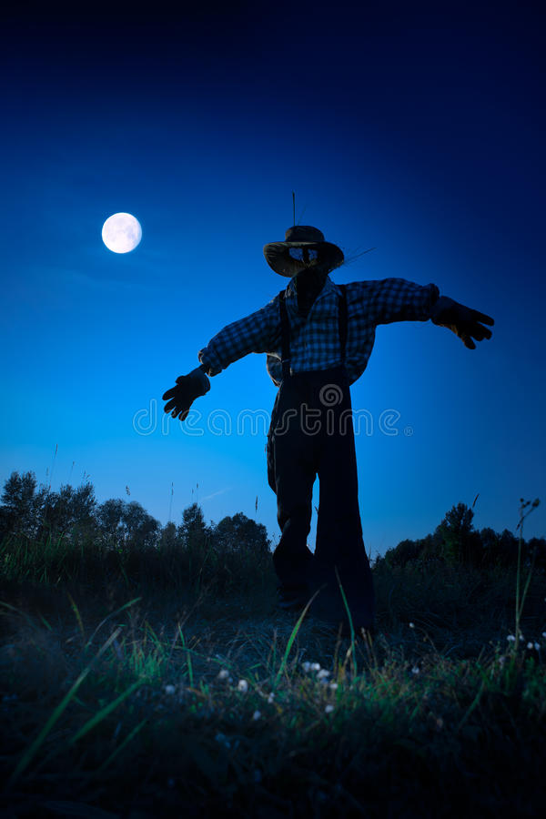 Noite de Halloween imagem de stock