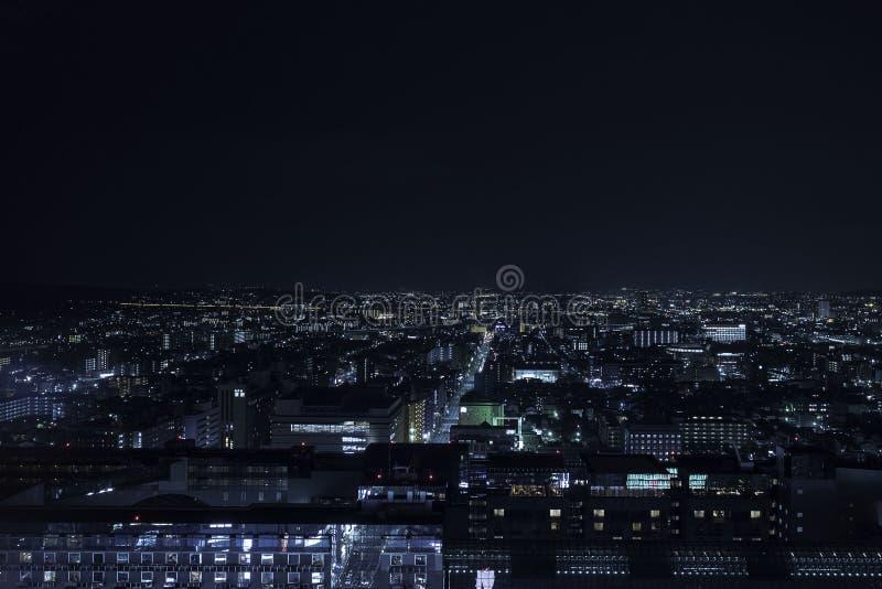 Noite de Kyoto foto de stock royalty free