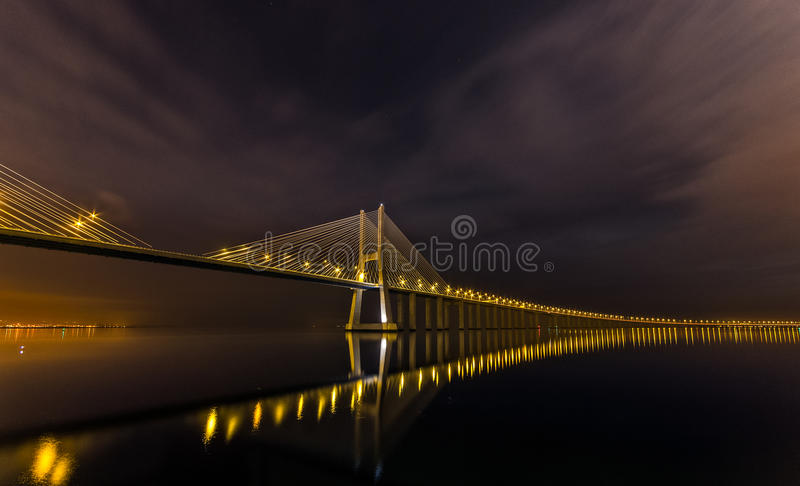 Noite de Lisboa fotos de stock