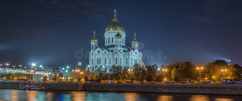 Noite de Moscou foto de stock