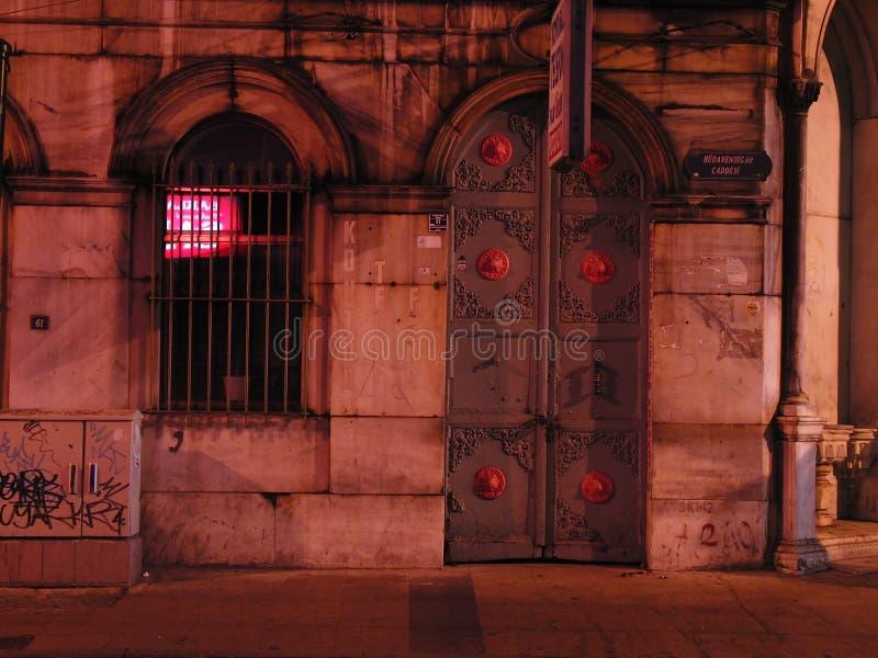 Noite de Turquia Istambul fotos de stock