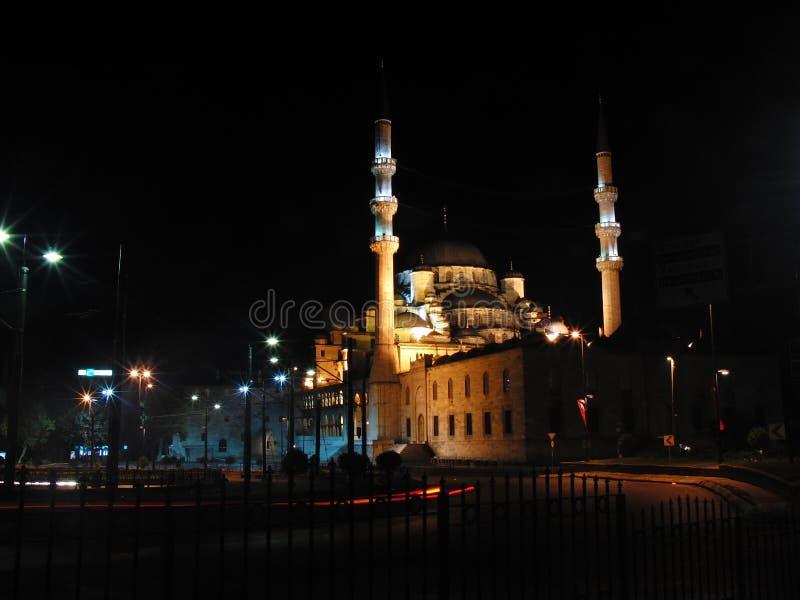 Noite de Turquia Istambul foto de stock
