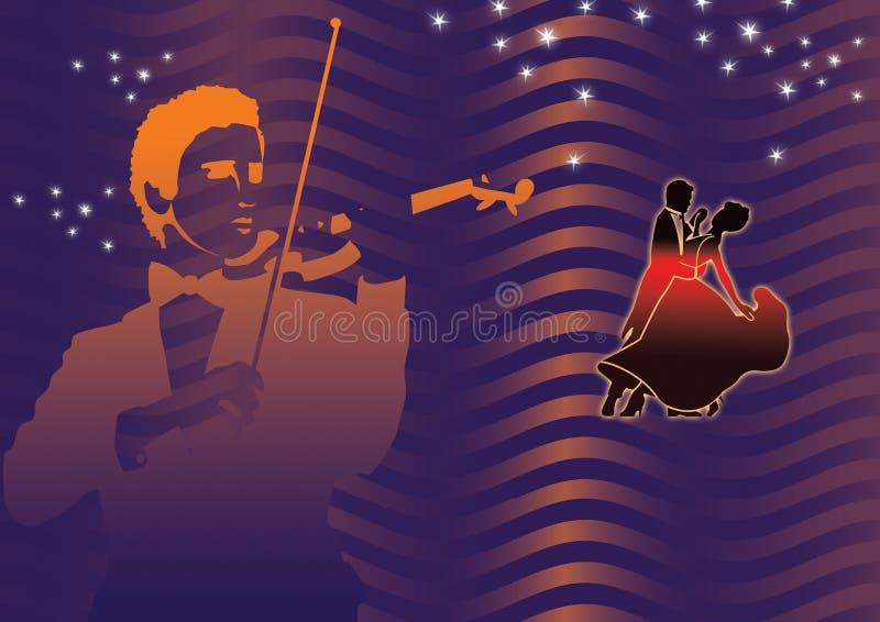 Noite do disco ilustração stock