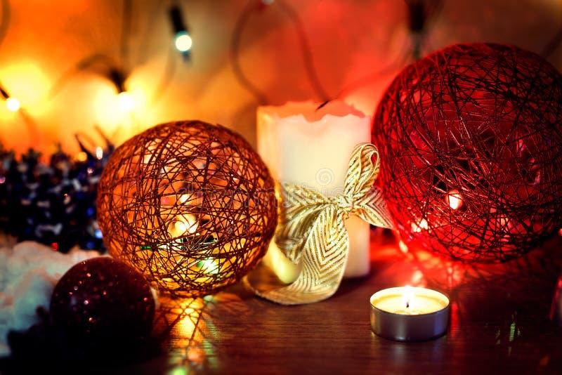 Noite do ` s do ano novo imagens de stock