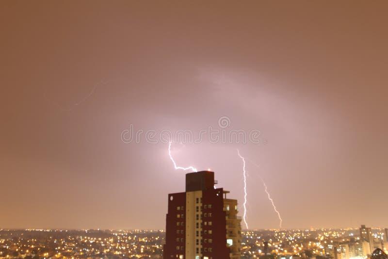 Noite do temporal imagens de stock royalty free