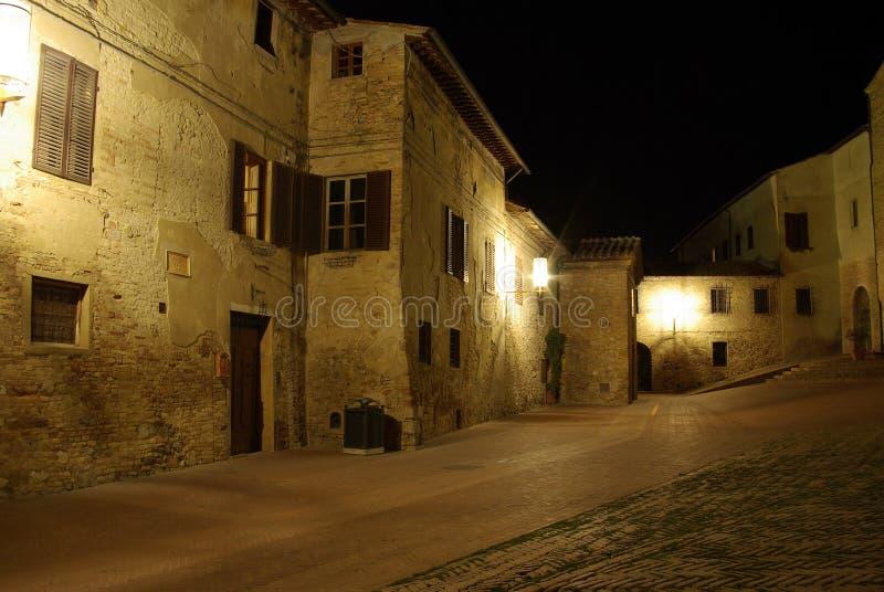 Noite em Italy fotos de stock