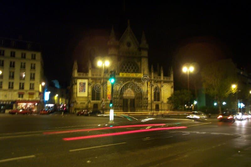 Noite em Paris fotos de stock