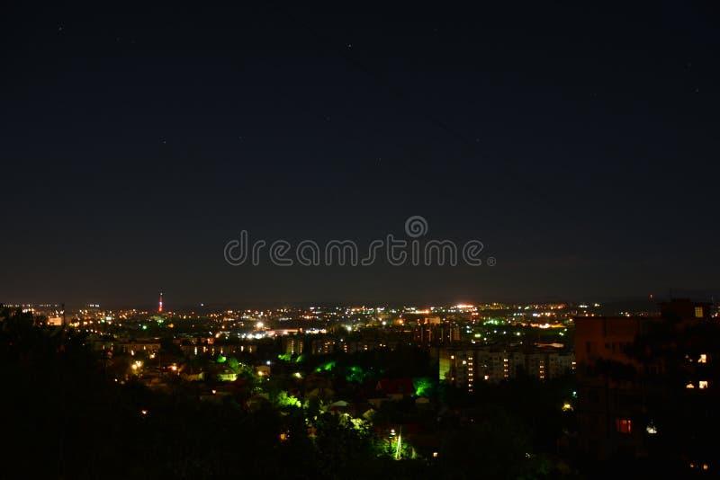 Noite Simferopol 005 fotografia de stock