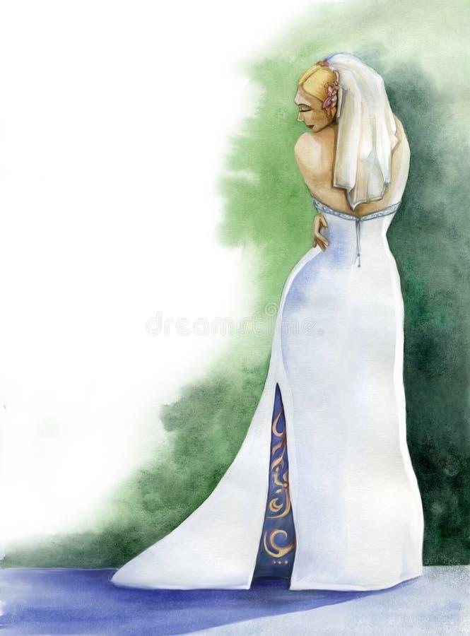 Download Noiva ilustração stock. Ilustração de bridal, casamento - 10057455