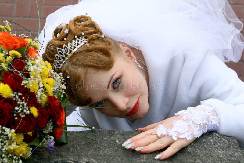 Download Noiva foto de stock. Imagem de blond, câmera, bonito - 16872960
