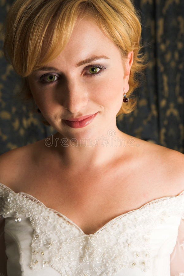 Noiva #7 foto de stock royalty free