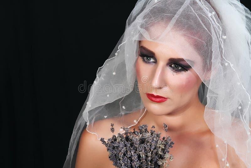 Noiva abandonada imagens de stock royalty free