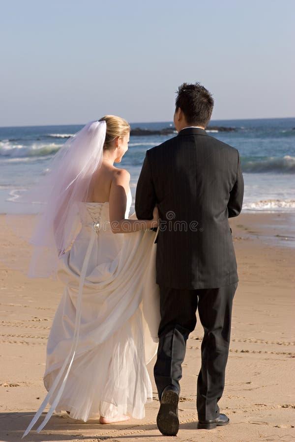 Noiva & noivo foto de stock royalty free