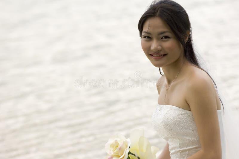 Noiva asiática 2 fotos de stock