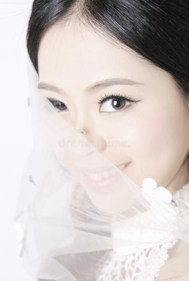 Noiva bonita 4 foto de stock