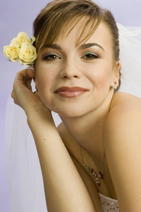 Noiva bonita da mulher nova fotos de stock royalty free