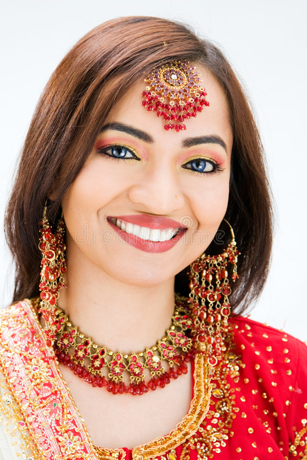 Noiva bonita de Bangali imagens de stock