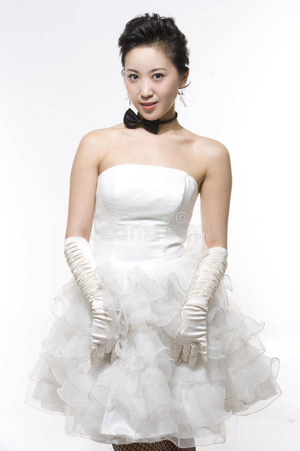 Noiva chinesa foto de stock