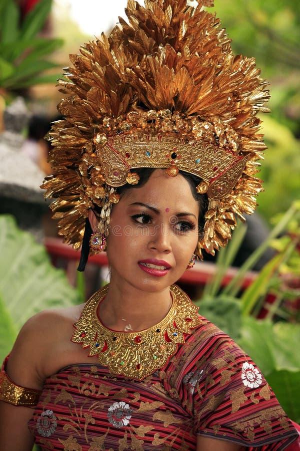 Noiva de Bali imagem de stock royalty free