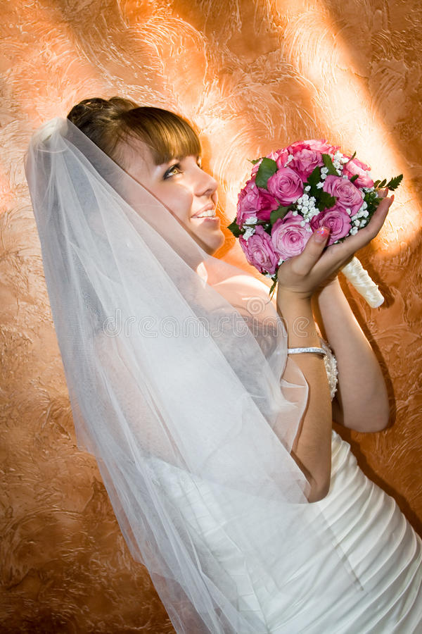 Noiva do casamento imagens de stock royalty free