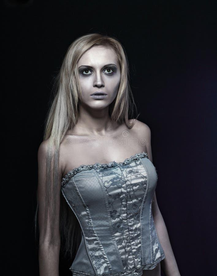 Noiva do zombi imagem de stock