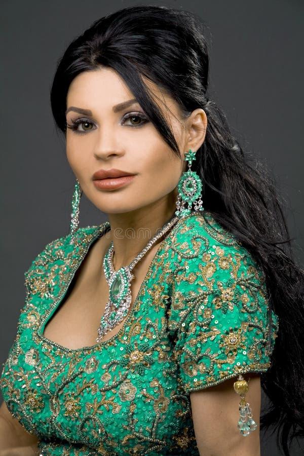 Noiva indiana fotografia de stock royalty free