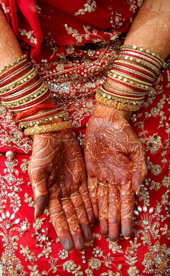 Noiva indiana foto de stock royalty free