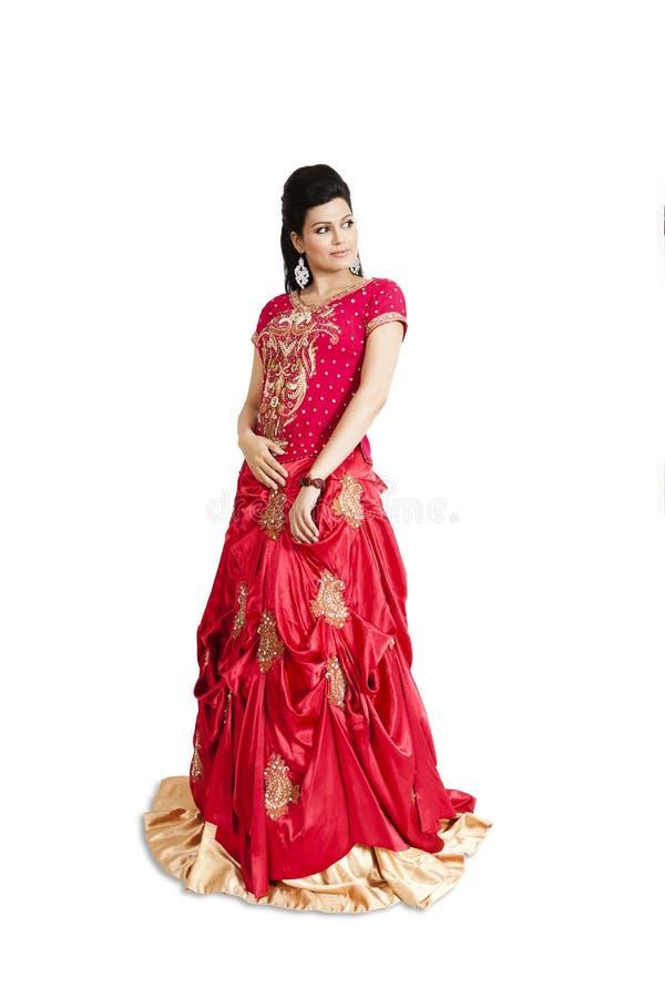 Noiva indiana bonita imagens de stock royalty free